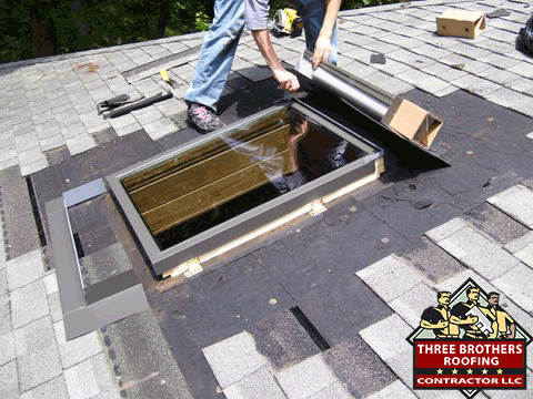 Skylight Contractors repair services local roofing repair