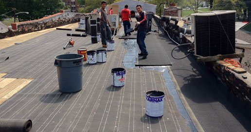"""<span style=""""color: #000000;"""">Flat Roof Leak Repair, Flat Roof Replacement Services.</span>"""